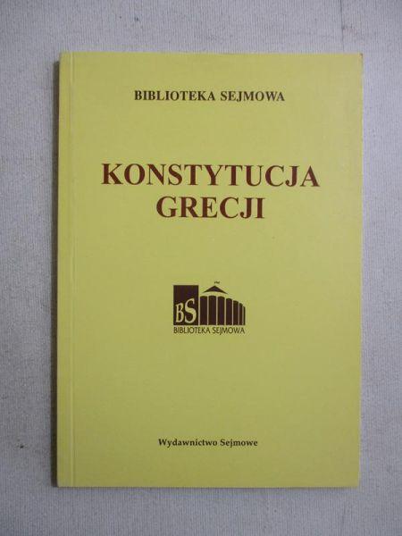 Konstytucja Grecji