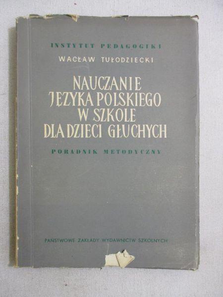 Nauczanie języka polskiego w szkole dla dzieci głuchych