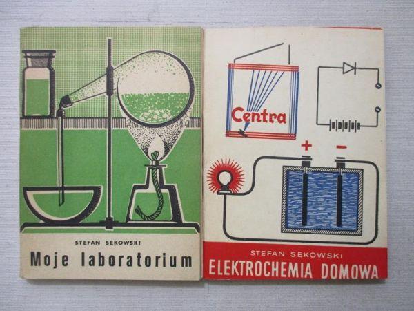 Sękowski Stefan - Elektrochemia domowa / Laboratorium domowe