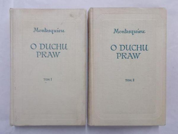 Montesquieu - O duchu praw, tom I-II