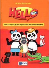 Hello Kids Karty pracy do języka angielskiego dla przedszkolaków