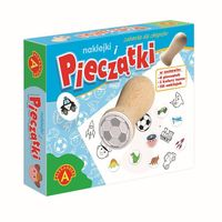 Pieczątki i naklejki zabawka dla chłopców