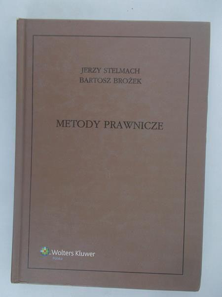 Stelmach Jerzy - Metody prawnicze