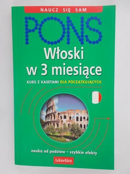 Pons, włoski w 3 miesiące