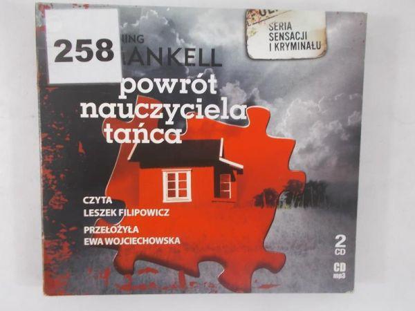 Powrót nauczyciela tańca. Płyta CD