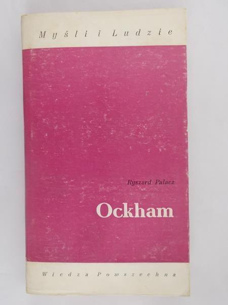 Palacz Ryszard - Ockham