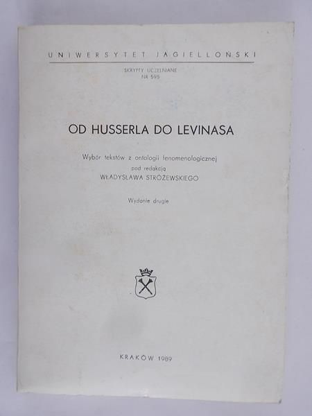 Od Husserla do Levinasa