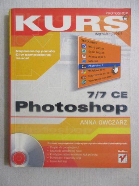 Owczarz Anna - Kurs Photoshop 7/7 CE + CD