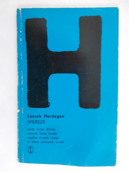 Znalezione obrazy dla zapytania Leszek Herdegen Wiersze