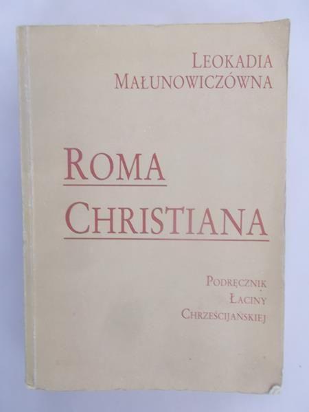 Małunowiczówna Leokadia - Roma Christiana