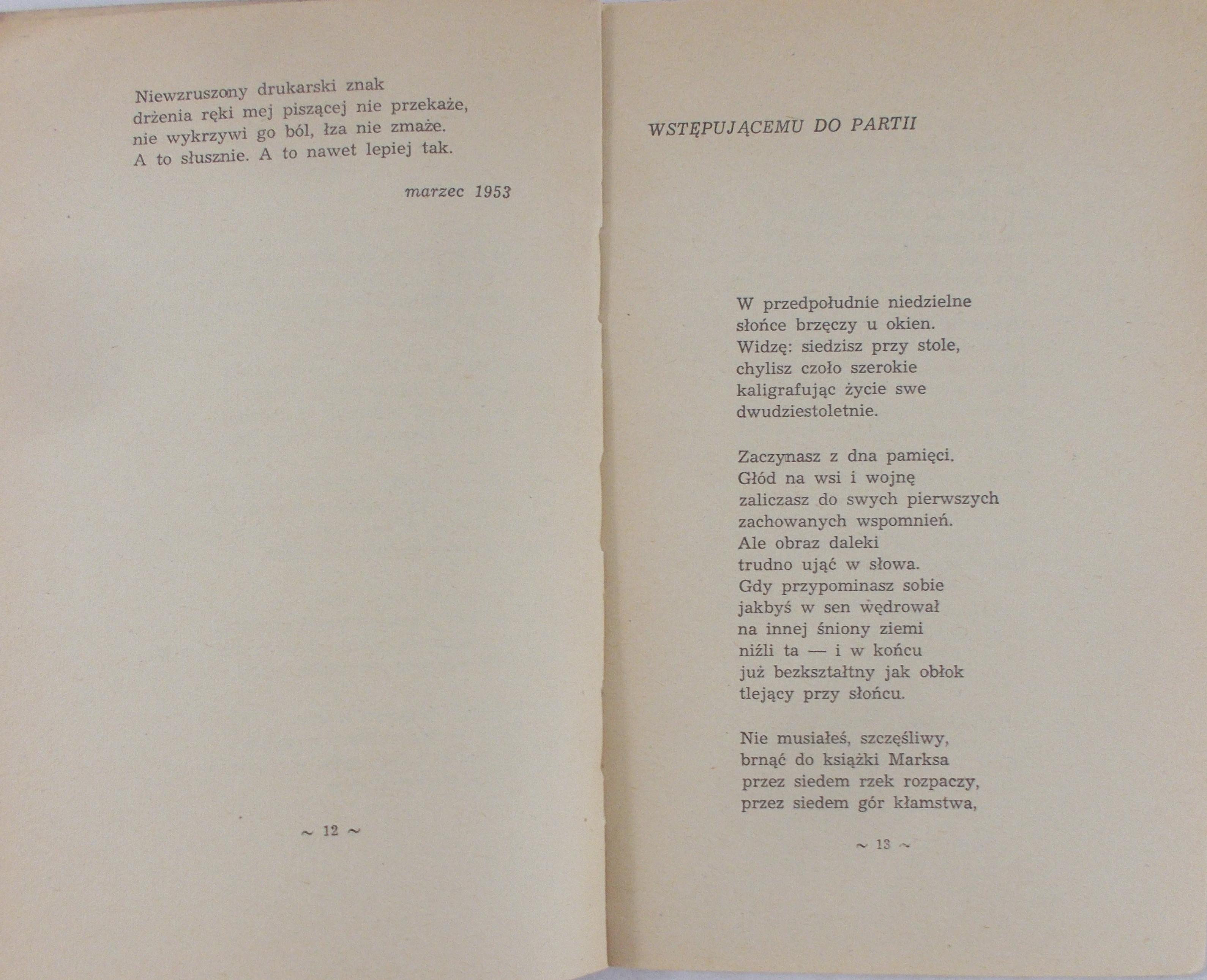 Pytania Zadawane Sobie Wisława Szymborska 38900 Zł