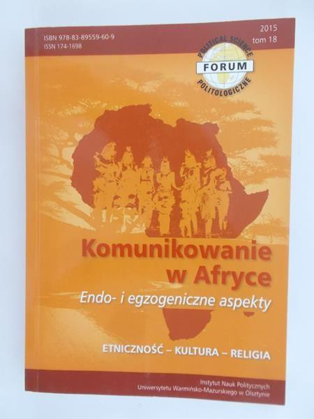 Żurkowski Arkadiusz - Komunikowanie w Afryce, tom 19