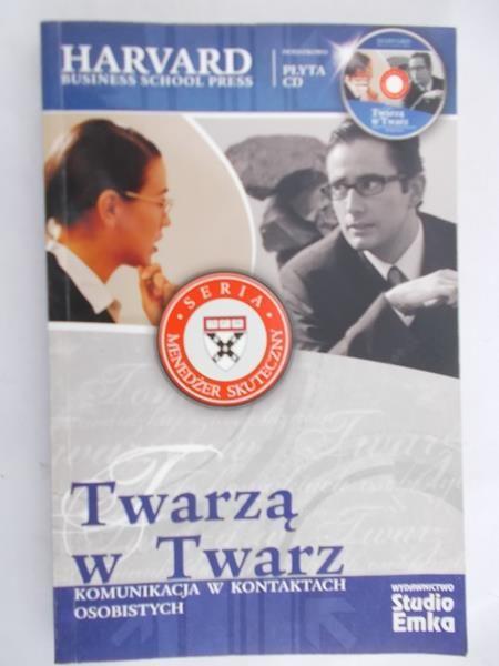 Madejski Radosław (red.) - Twarzą w Twarz. Komunikacja w kontaktach osobistych + płyta CD