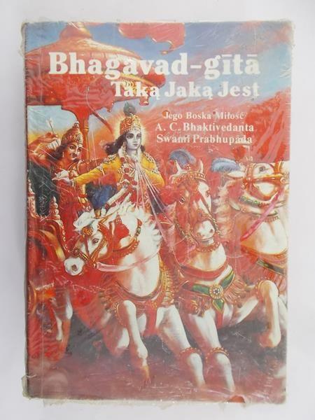 Bhaktivedanta Swami Prabhupada - Bhagavad-Gita. Taką jaką Jest
