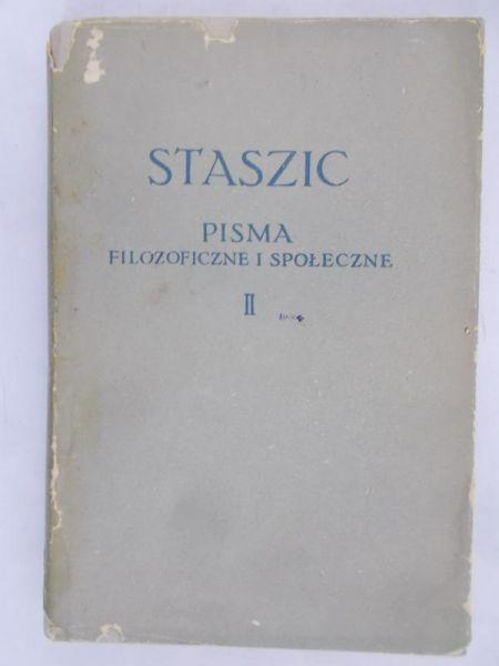 Staszic Stanisław - Pisma filozoficzne i społeczne, T. II  BKF