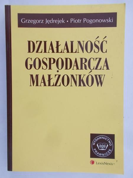 Jędrejek Grzegorz - Działalność gospodarcza małżonków
