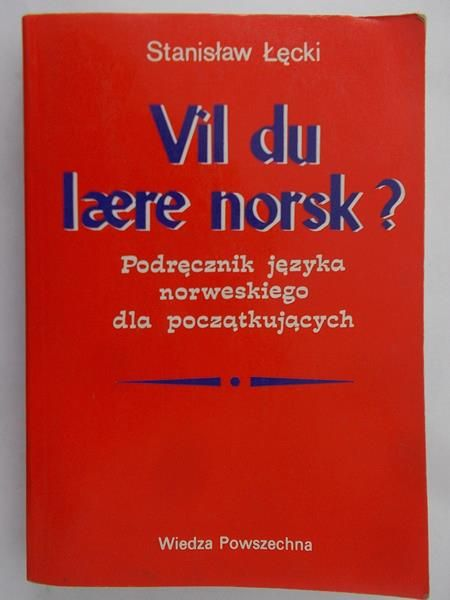 Łęcki Stanisław - Vil du laere norsk?