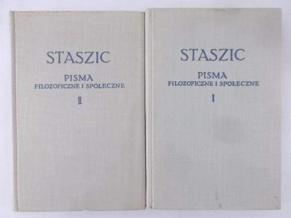 Staszic Stanisław - Pisma filozoficzne i społeczne, Tom I-II