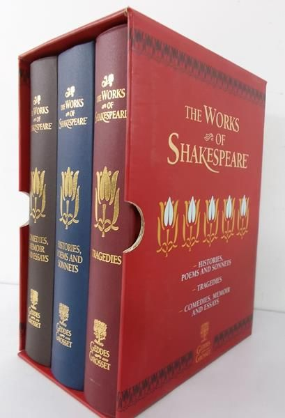 Cornwall Barry (opr.) - The works of Shakespeare, 3 tomy