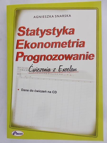 Snarska Agnieszka - Statystyka, ekonometria, prognozowanie