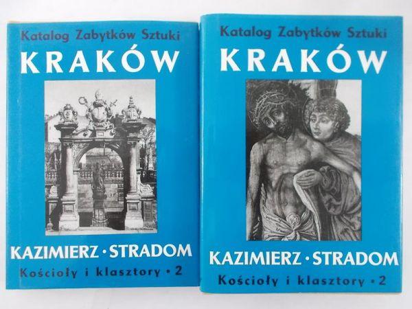 Katalog Zabytków Sztuki: Kraków. Kazimierz. Stradom, Tom IV i V