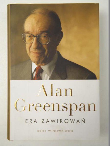 Greenspan Alan - Era zawirowań