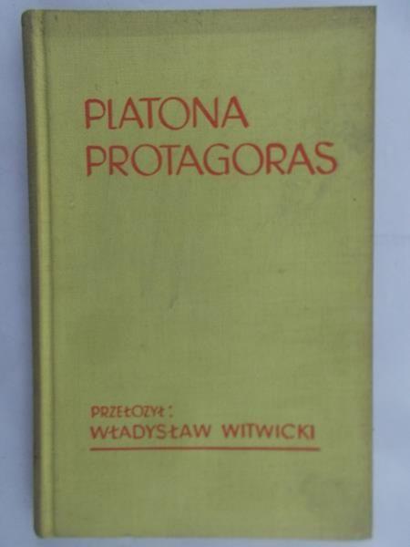 Platon - Protagoras