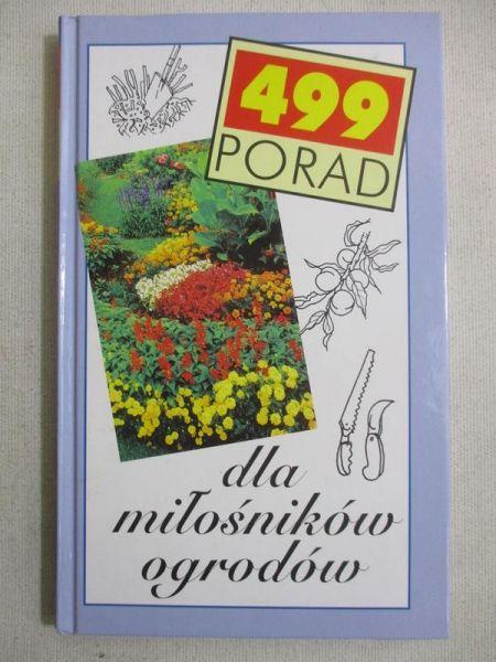499 porad dla miłośników ogrodów