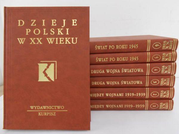 Sieprowski Stnisław - Dzieje powszechne XX wieku, t. I-VII