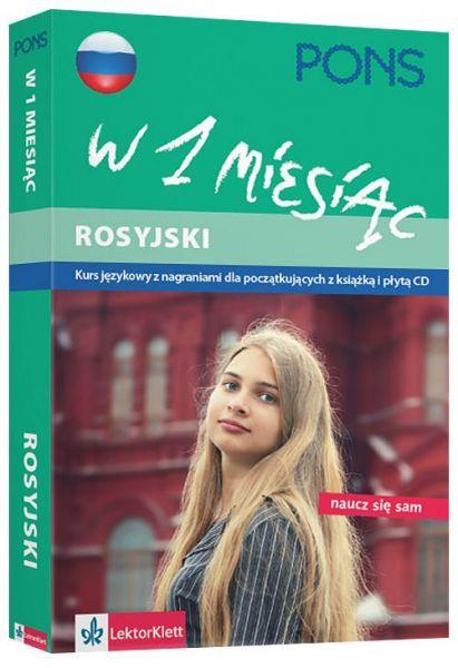 Wildemann Victoria - Pons Rosyjski w 1 miesiąc + 2 płyty CD, Nowa