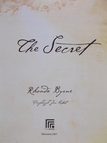 Byrne Rhonda - Sekret