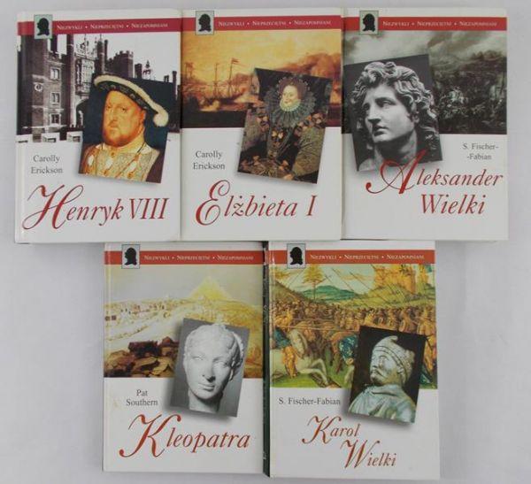 Niezwykli Nieprzeciętni Niezapomniani, 5 tomów
