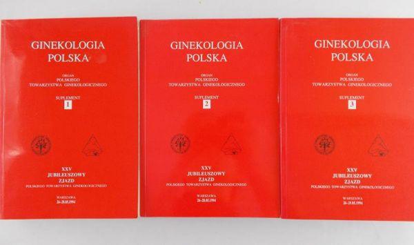 Marianowski Longin (Red.) - Ginekologia Polska, 3 tomy