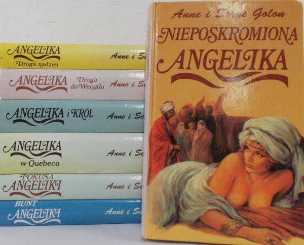 Golon Anne - Zestaw 7 książek