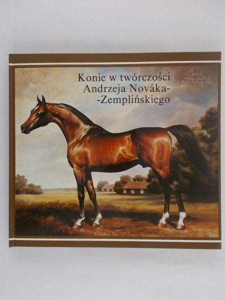 Novak-Zempliński Andrzej  - Konie w twórczości