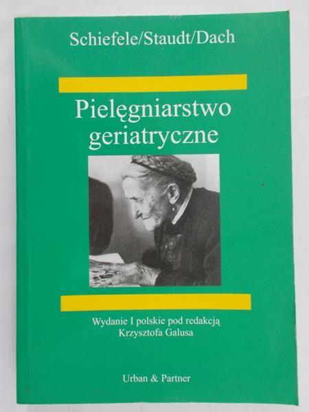 Schiefele Josefa - Pielegniarstwo geriatryczne