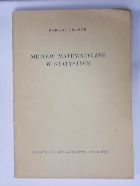 Cramer Harald - Metody matematyczne w statystyce