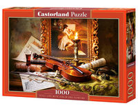 Puzzle Still Life With Violin And Painting 1000