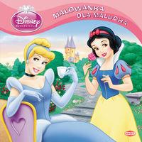 Disney Księżniczka Malowanka dla malucha