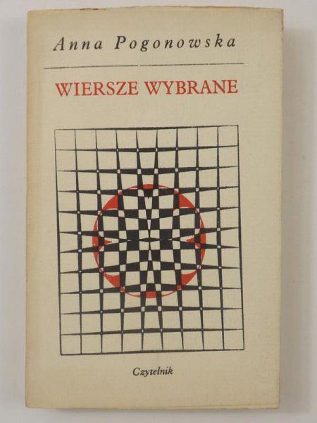Pogonowska Anna Wiersze Wybrane Anna Pogonowska 1000