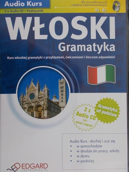 Wieczorek Anna - Włoski Gramatyka - Audiobook