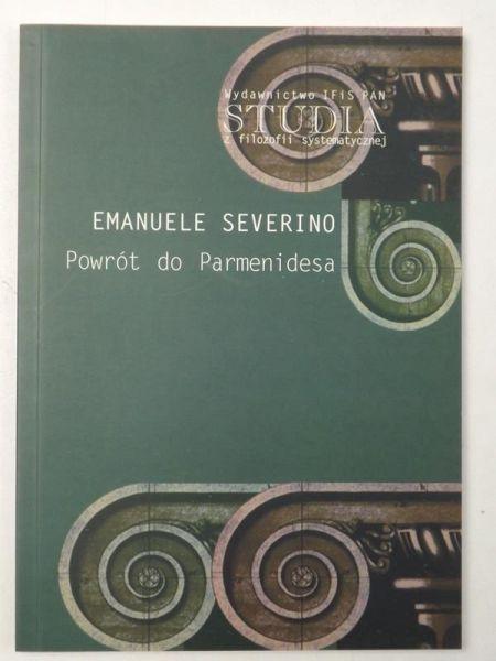 Severino Emanuele - Powrót do Parmenidesa
