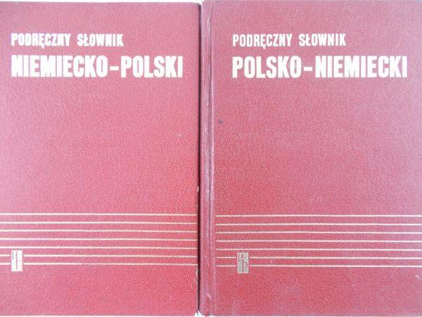 Chodera Jan - Podręczny słownik polsko- niemiecki oraz niemiecko- polski