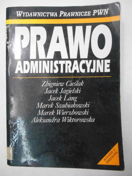 Cieślak Zbigniew - Prawo administracyjne