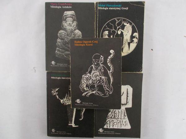 Frankowska / Pietrzykowski / Piwiński / Krawczuk / Ogarek-Czoj - Zestaw 5 książek