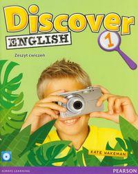 Wakeman Kate - Discover English 1 zeszyt ćwiczeń z płytą CD