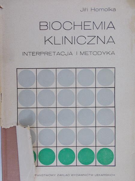 Homolka Jiri - Biochemia kliniczna