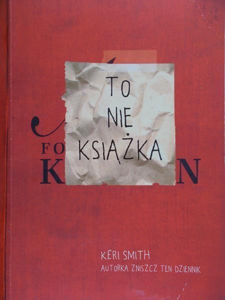 Smith Keri - To nie książka