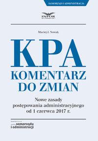 KPA Komentarz do zmian