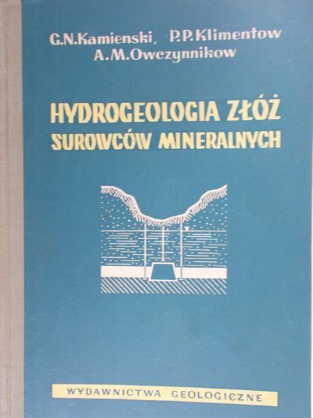 Kamienski G.N. - Hydrogeologia złóż surowców mineralnych